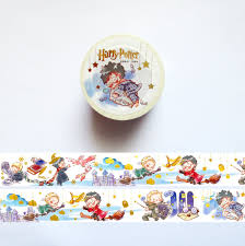 Halloween Washi Tape Australia by Harry Potter Washi Tape Hogwarts Quidditch Washi Roll Draco