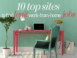 10 top sites to find legit work from home jobs