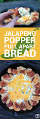 Happy Living Halloween Jalapeno Poppers by Jalapeño Popper Pull Apart Bread Recipe Bacon Cheese And Wraps