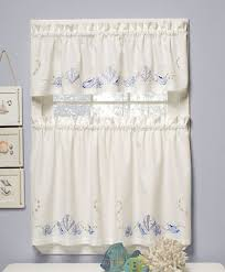 be creative with the tier curtains home design ideas