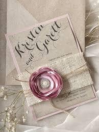 Custom Listing Lace Wedding Invitation Pink Burlap Invitations Rustic By Forlovepolkadots On Etsy