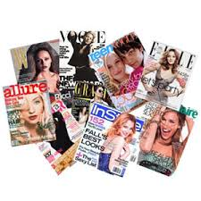 Fashion Magazine Stack Pic Source