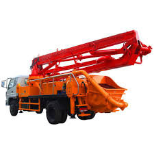 100 Boom Truck Concrete Pump And Placing Made By China Factory Buy