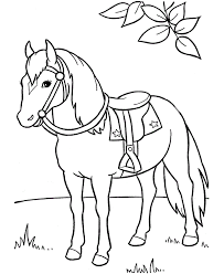 Popular Coloring Pages Horses Top Child Colori 3104