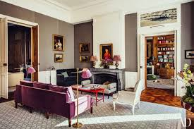 Pierre Sauvage Colorful Parisian Apartment An 18th Structure