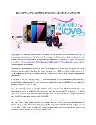 Samsung Valentines Day Offers: Smartphones, Bundle Deals ... Samsung Galaxy S4 Active Vs Nexus 5 Lick Cell Phones Up To 20 Off At Argos With Discount Codes November 2019 150 Off Any Galaxy Phone Facebook Promo Coupon Boost Mobile Hd Circucitycom Shopping Store Coupons By Discount Codes Issuu Note8 Exclusive Offers Redemption Details Hk_en Paytm Mall Coupons Code 100 Cashback Nov Everything You Need Know About Online Is Offering 40 For Students And Teachers How Apply A In The App Store Updated Process Jibber Jab Reviews Battery Issues We Fix It Essay Free Door