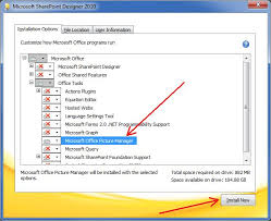 Install Microsoft fice Picture Manager in fice 2013