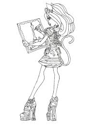 Monster High Coloring Pages 13 Wishes Wisp Images Pictures All Characters Baby Online