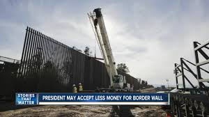 100 Wall Less House White Officials Say Trump Would Accept Less Money For