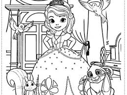 Sofia The First Coloring Pages Pdf 12 Free