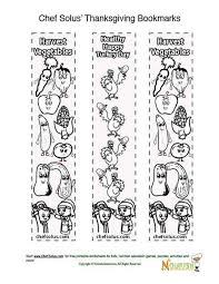 Holidays 11 Bookmark Thanksgiving Coloring Page For Kids