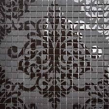 brown glass tile murals wall stickers plated backsplash