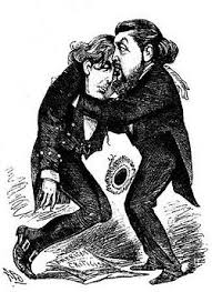 1883 Cartoon By Alfred Bryan After The Failure Of Oscar Wildes Play Vera Or Nihilists In America