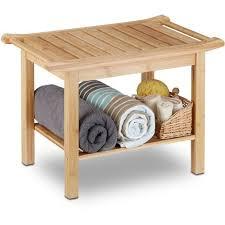 casaria bathroom freestanding bamboo 4 tier 88x16x28 cm