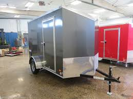 027427 - 2019 Bravo Scout 6'X10' Enclosed Trailer For Sale In West ...