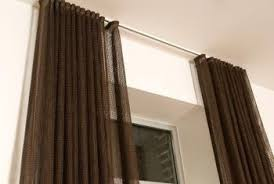 how to convert tab back curtains to traverse rod home guides
