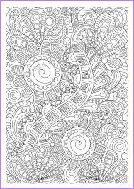Adult Coloring Page Zentangle Pattern By ZentangleHouse