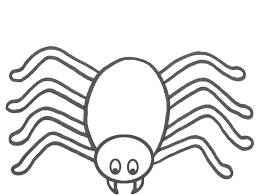 Spider Coloring Pages 2