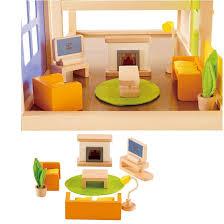 beleduc puppenmöbel puppenhausmöbel wohnzimmer puppen zubehör e 3452 hape