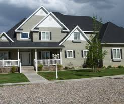 Fancy Exterior Painting Color Country Concrete Siding Country ... Pretty Exterior House Design Comes With Gray Wall Paint Color And Designs Interior Peenmediacom Free Online Planning Of Houses Cool Room Contemporary Best Idea Home Design Creative Attractive Kerala Villa Beautiful Second Storey Brilliant Your 3d Httpsapurudesign Inspiring A For Kids Fniture Idolza 25 Windows Ideas On Pinterest Window Trims Pating Living Colors Homes Build Virtual Ethiopia Behr On Learn More At Bethbrevik Com