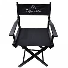 siege metteur en fauteuil de personnalisé avec broderie amikado