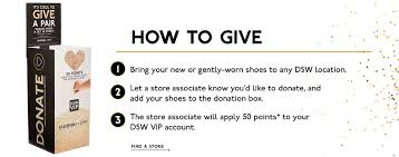 DSW VIP Ways To Give | DSW November 2019 Existing Users Spothero Promo Code Big 5 Sporting Goods Coupon 20 Off Regular Price Item And Pin De Dane Catalina En Michaels Ofertas Dsw 10 Off Home Facebook Jcpenney 25 Salon Purchase For Cardholders Jan Grhub Reddit W Exist Dsw Coupons Off Menara Moroccan Restaurant Coupon Code The Best Of Black Friday Sister Studio 913 Through 923 Kohls 50 Womens And Memorial Day Sales You Dont Want To Miss Shoes Boots Sandals Handbags Free Shipping Shoe