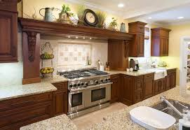 Example Of A Mountain Style Kitchen Design In Chicago With An Undermount Sink Raised
