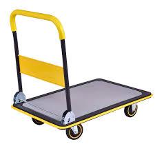100 Moving Hand Truck Folding Platform Cart Dolly Push Warehouse