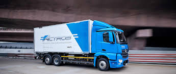 100 Benz Trucks Mercedes EActros Sustainable Fully Electric And Quiet