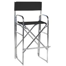 100 Walmart Black Folding Chairs 305 Inch Aluminum Frame Bar Height Directors Chair Com