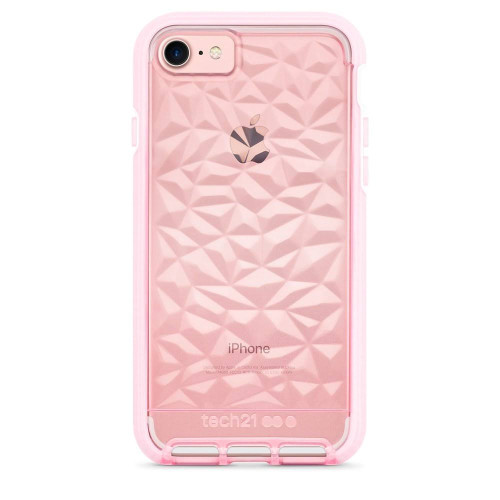 "Tech21 Apple iPhone 7 Evo Gem 3 Layer Drop Protection Case - 4.7"", Rose"
