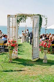 Fabulous Rustic Old Door Wedding Decoration Ideas See More