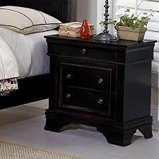 Black Dresser 3 Drawer by Homelegance Derby Run 3 Drawer Nightstand In Antique Black