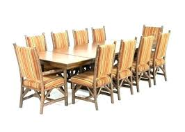 Table Leaf Extension Round Dining With Rustic Set Medium Size Of Room