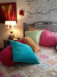 Bedroom Featuring Pier 1 Hayworth Headboard Nighstand And Rosette Lamp