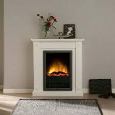 design stand kamin elektro heizung deko flammen effekt