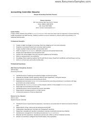 Accounting Skills Resume To List On Free Example And