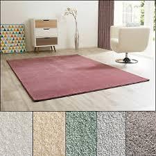 moderner wohnzimmer teppich vellow in 6 trendigen farben