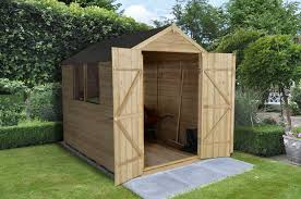 Cheap 6 X 8 Wooden Sheds by Pressure Treated Overlap Sheds
