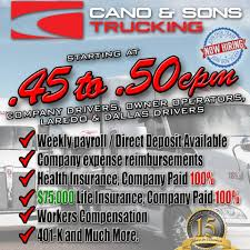 Cano And Sons Trucking, LLC - 46 Photos - 9 Reviews - Transportation ...