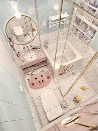 leben in einem märchen mit diesem badezimmer in macaron farbe