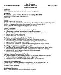 X Ray Technologist Resume Examples ResumeExamples