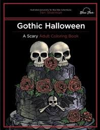 Halloween Books For Adults 2017 by Scary Coloring Books For Adults Popsugar Smart Living