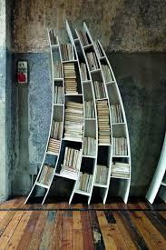 kreative ideen für bücher aufbewahrung hausbibliothek