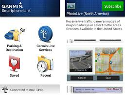 Garmin Smartphone Link for Android updated with Dynamic Parking