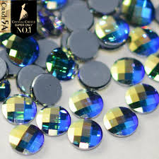 100 Ab Flat Hotfix Rhinestones 5A Best Clear White Stones And Crystals Glass