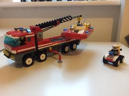 LEGO City Off Road Fire Truck And Boat (7213) | In Rustington, West ... Lego City Main Fire Station Home To Ba Truck Aerial Pum Flickr Lego 60110 Fire Station Cstruction Toy Uk City Set 60002 Ladder 60107 Jakartanotebookcom Airport Itructions 60061 Truck Stock Photo 35962390 Alamy Walmartcom Trucks And More Youtube Fire Truck Duplo The Toy Store Scania P410 Commissioned Model So Color S 60111 Utility Matnito 3221 Big Amazoncouk Toys Games