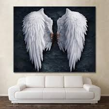 gudojk dekorative malerei engelsflügel wand poster drucke
