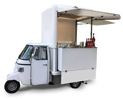Food Trucks And Promotional Vehicles For Rent | Fleet Of Piaggio Ape
