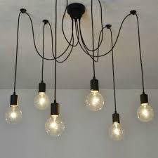 chandeliers design fabulous arms spider shape pendant l led